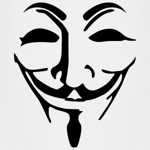 Anonymous mask fawkes Shirts - Teenage Premium T-Shirt