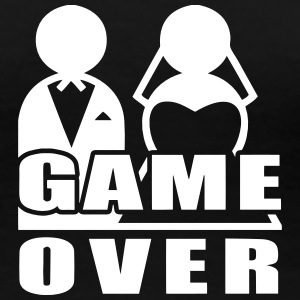 Game Over - Marriage T-Shirts - Women's Premium T-Shirt