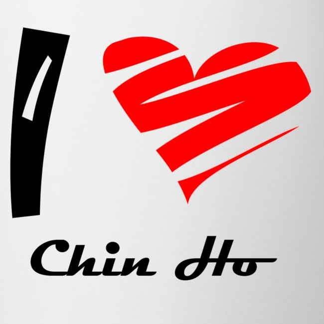 """Tasse bicolore """"Chin"""""""