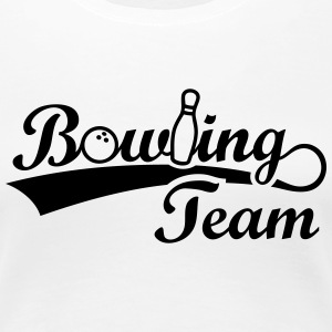 Bowling Team - Frauen Premium T-Shirt