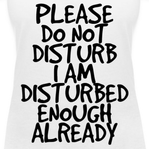 Please do not disturb T-Shirts - Women's V-Neck T-Shirt