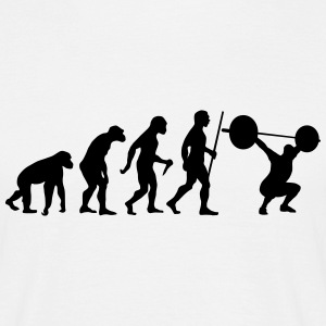 Evolution - Squat T-Shirts - Men's T-Shirt