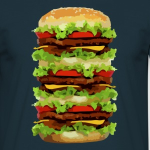 XXL Hamburger T-shirts - Herre-T-shirt