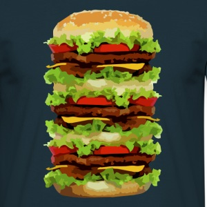 XXL Hamburger T-Shirts - Men's T-Shirt