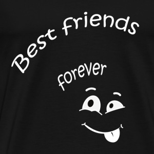 Best friends forever T-shirts - Premium-T-shirt herr