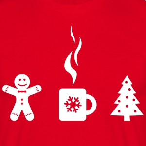 Christmas mulled wine with  T-Shirts - Men's T-Shirt