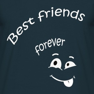 Best friends forever T-shirts - Herre-T-shirt
