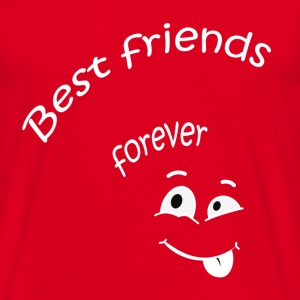 Best friends forever T-shirts - T-shirt herr