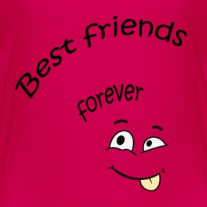 Best friends forever T-Shirts - Kinder Premium T-Shirt