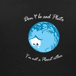 Sad Pluto T-Shirts - Women's V-Neck T-Shirt