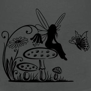 Elfe, Fee, fairy, elf T-Shirts - Women's V-Neck T-Shirt