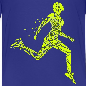 Läufer, Jogger, Sprinter - Teenager Premium T-Shirt
