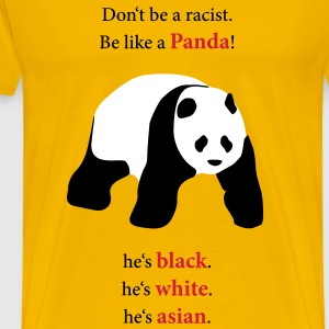 Be like a Panda! - Männer Premium T-Shirt