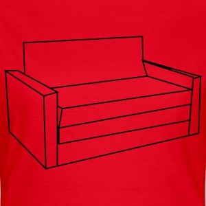 Sofa T-Shirts - Frauen T-Shirt