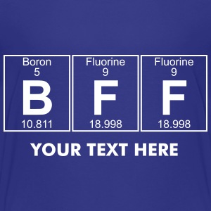 B-F-F (bff) - Full Shirts - Teenage Premium T-Shirt