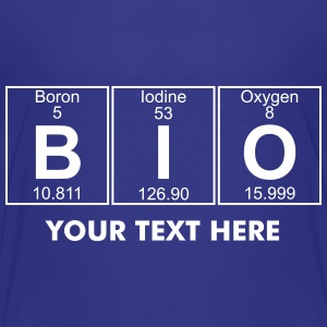 B-I-O (bio) - Full Shirts - Teenage Premium T-Shirt