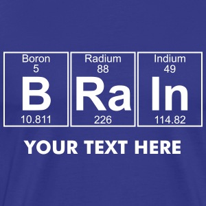 B-Ra-In (brain) - Full T-Shirts - Men's Premium T-Shirt