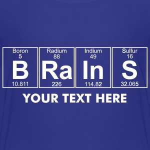 B-Ra-In-S (brains) - Full Shirts - Teenage Premium T-Shirt
