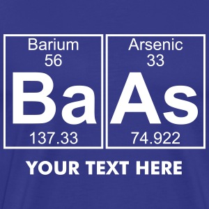 Ba-As (baas) - Full T-Shirts - Männer Premium T-Shirt