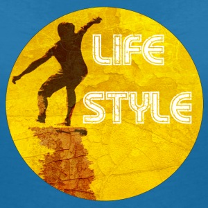 Surf Life Style 2 Tee shirts - T-shirt col V Femme