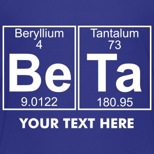 Be-Ta (beta) - Full Shirts - Teenage Premium T-Shirt