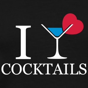 I love cocktails - T-shirt Premium Homme