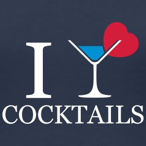 I love cocktails alcohol T-shirts - Vrouwen Premium T-shirt