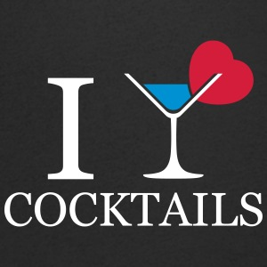 I love cocktails T-Shirts - Men's V-Neck T-Shirt