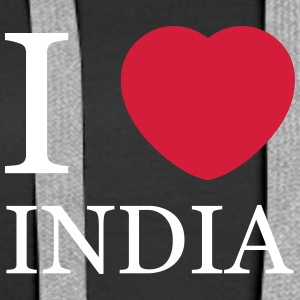 I love India Hoodies & Sweatshirts - Women's Premium Hoodie