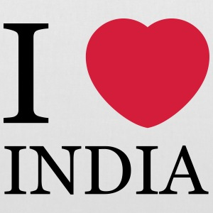 I love India personnalisable - Tote Bag