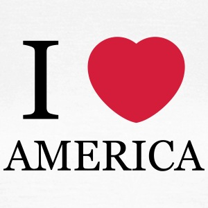 I love America T-Shirts - Frauen T-Shirt
