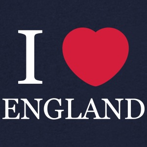 I love England personnalisable - T-shirt Homme col V
