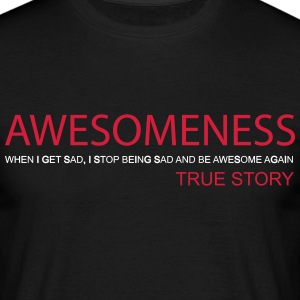 Awesomeness T-shirts - Mannen T-shirt