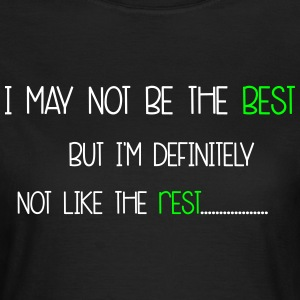 Not Like The Rest T-shirts - Dame-T-shirt