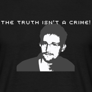 The truth isn't a crime!  - Männer T-Shirt
