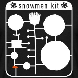 snowman kit T-shirts - Mannen T-shirt