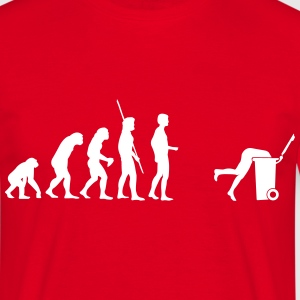 Evolution bin  T-shirts - Herre-T-shirt