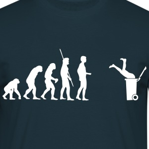 Evolution bin  T-Shirts - Men's T-Shirt