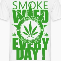 T-shirt Smoke weed everyday