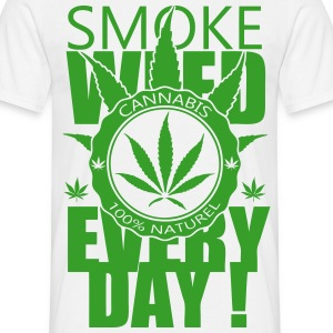 T-shirt Smoke weed everyday - T-shirt Homme