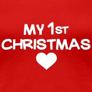My first christmas T-Shirts - Frauen Premium T-Shirt