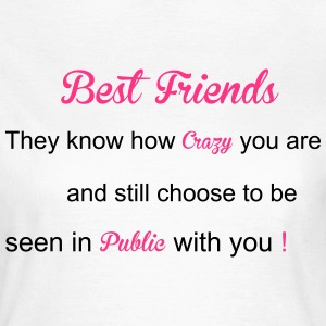 Best Friends T-shirts - Vrouwen T-shirt