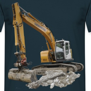 excavateur Tee shirts - T-shirt Homme