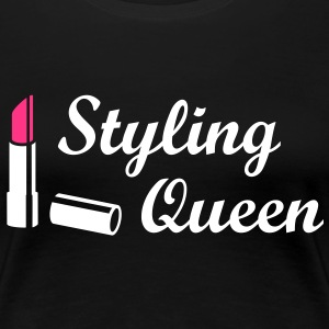 Styling Queen Lippenstift Model T-Shirts - Frauen Premium T-Shirt