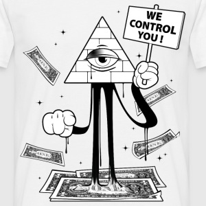 We Control You Tee shirts - T-shirt Homme