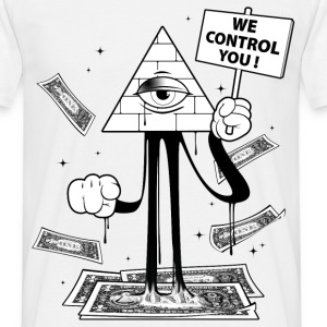 We Control You Tee shirts - Tee shirt Homme