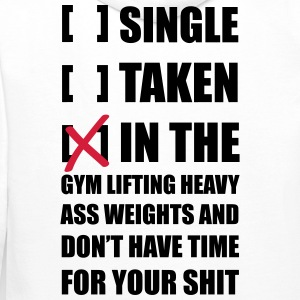 Single ... Training Gym Pullover & Hoodies - Männer Premium Hoodie