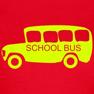 school bus T-Shirts - Frauen T-Shirt
