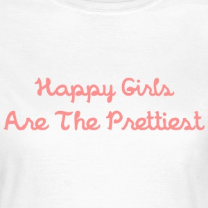 Happy Girls T-Shirts - Women's T-Shirt
