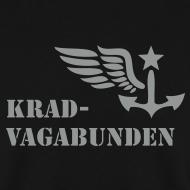 Motiv ~ KRAD-VAGABUNDEN Pulli Männer (grauer Druck)